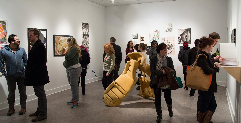 Watkins College of Art, Design & Film / Watkins 2015 Currey Juried Student Show / Sam Angel