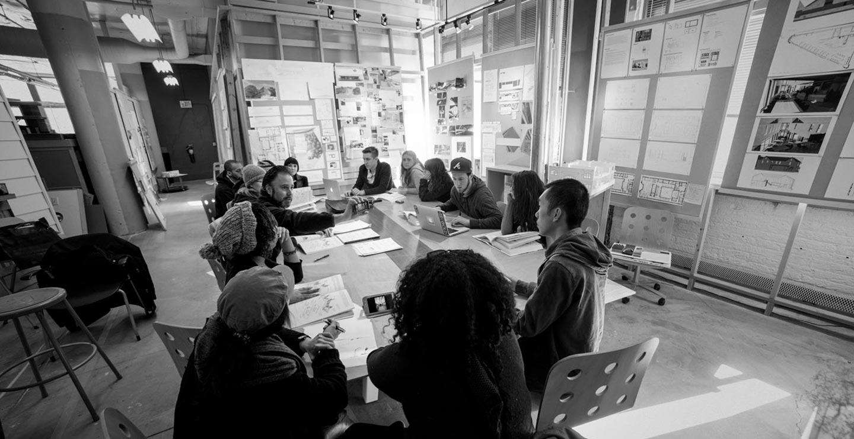 Milwaukee Institute of Art & Design / Interior Architecture + Design Class Discussion